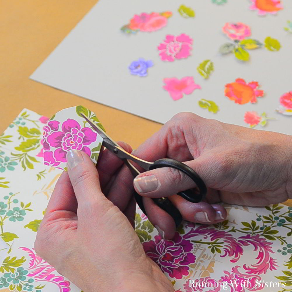 Learn how to decoupage with Mod Podge. In this video tutorial we'll show you how to turn a glass plate into a pretty heart serving platter.