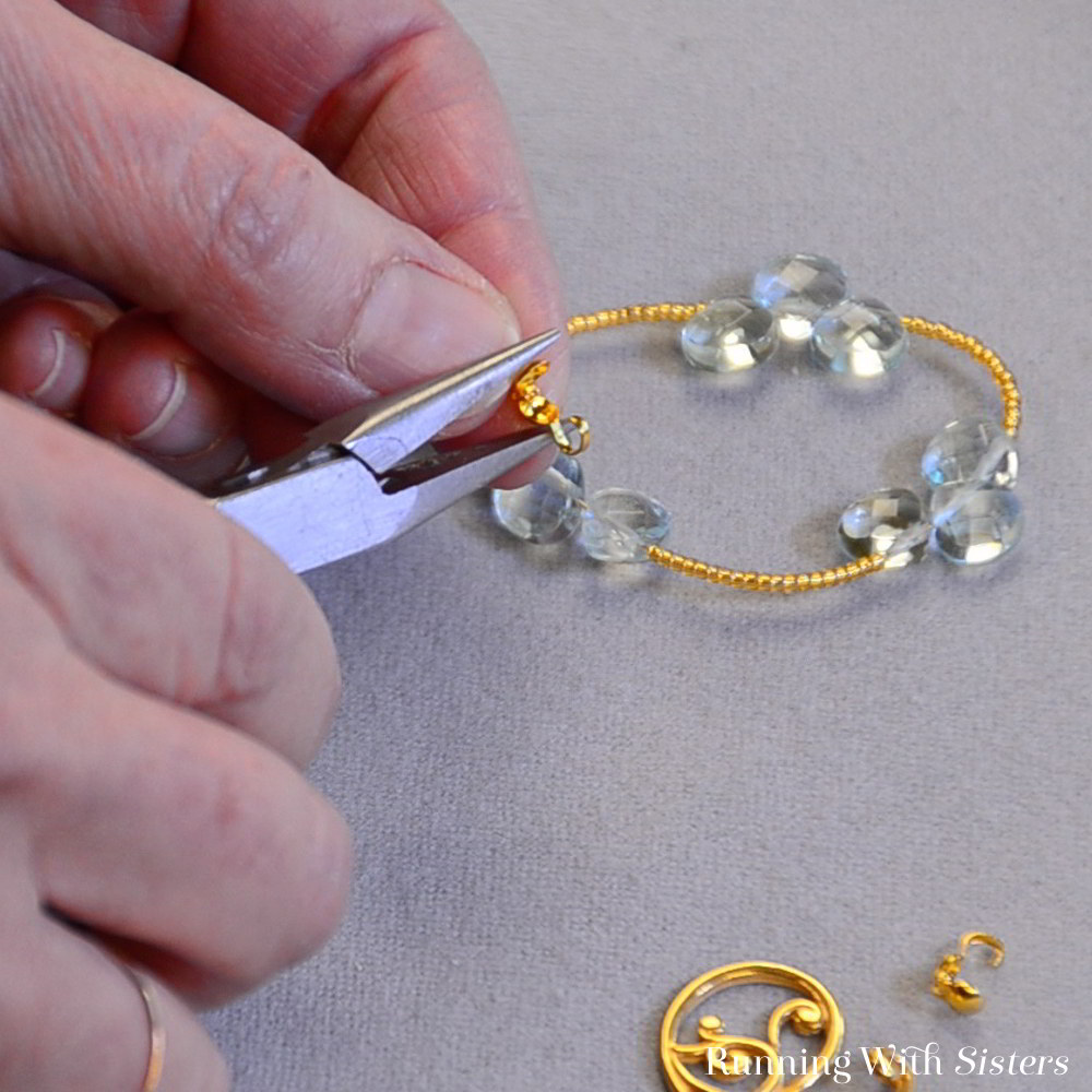 Learn to make this easy bead stringing project! In this video jewelry making tutorial, we'll show you how to string the beads and how to put on the clasp.