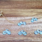 Easy Bead Stringing Project: Elegant Briolette Necklace