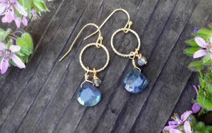 How To Make Easy Gemstone Earrings