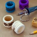 Intro to Wood Burning: Boho Napkin Rings