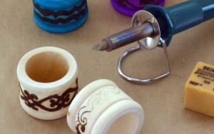 Intro to Wood Burning: Boho Napkin Rings