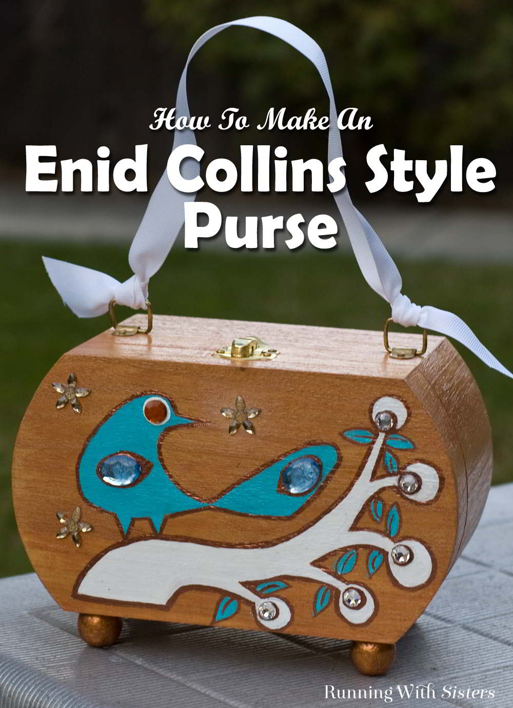 Make your own Enid Collins purse.