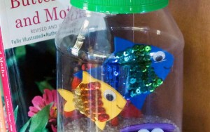 Kid Craft! Make A Jar Aquarium