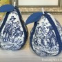 How To Make Fabric Covered Toile Pears