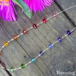How To Make A Crystal Rainbow Necklace