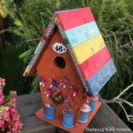 Yardstick Birdhouse