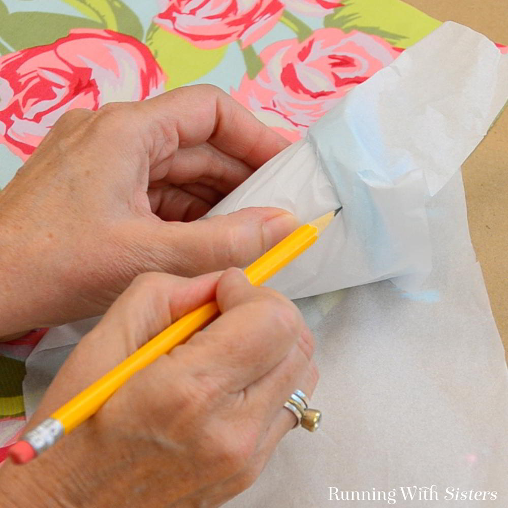 Make fabric covered pots! We'll show you how to decoupage with fabric and Mod Podge to make a darling gift craft!