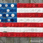 Folk Art Flag for the Fourth of July