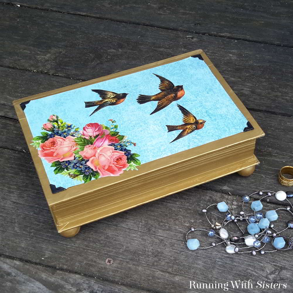 Turn a hollow book into a jewelry box! We'll show you how to hollow out a book in this DIY jewelry box video tutorial.