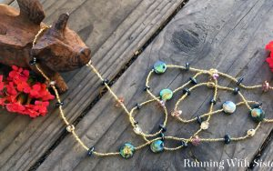 How To Make A Long Beaded Necklace