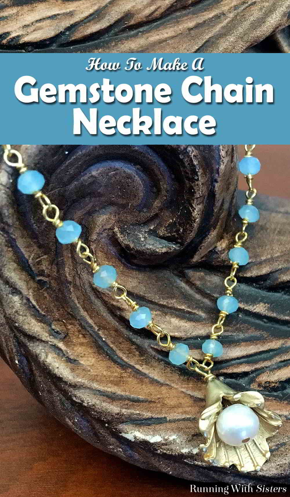 Make a pendant necklace with gemstone chain with this jewelry making tutorial. In this video, we'll show you how to use gemstone chain. So pretty!