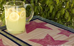 Fourth Of July Star Stamped Placemats
