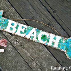 Make a mosaic sign using seaglass and wooden letters. In this video tutorial, we'll show you how to apply the adhesive, letters, and seaglass. Great mosaic project for beginners!