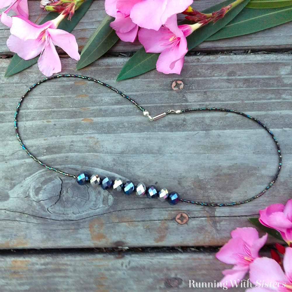 Elegant Rondelle Necklace