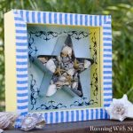 Beachy Seashell Shadowbox