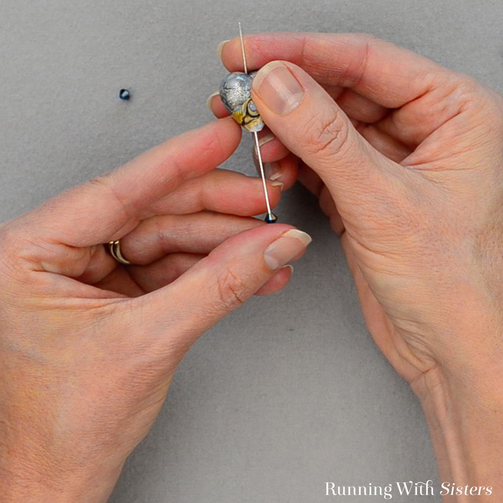 Learn how to turn a bead into a pendant. In this video tutorial, we'll show you how to use a headpin and pliers to make a pretty bead into a necklace!