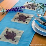 Applique Leaf Table Runner