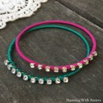 Colorful Rhinestone Bangles