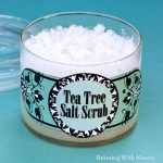 Spa Craft: Make Tea Tree Salt Scrub