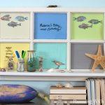 Upcycled Window Shelf