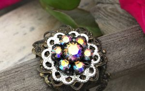 Rosette Filigree Ring