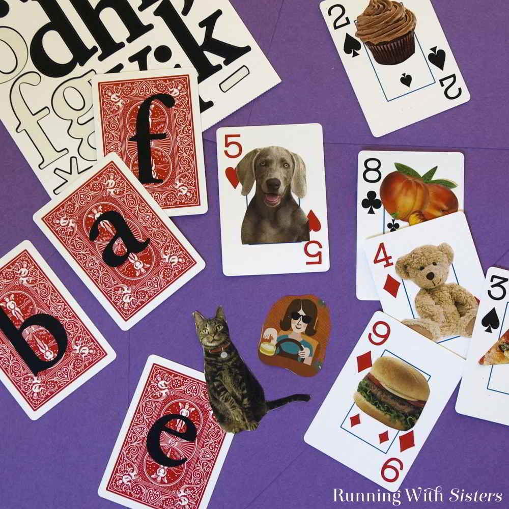 We love to do this Thanksgiving craft with the family on turkey day. Make a deck of cards with things you are thankful for!