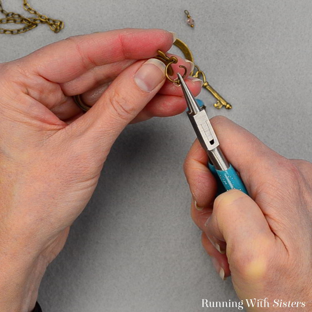 Make a Boho Charm Pendant! We'll show you how to turn a bead into a charm, how to attach the charms to a ring, and more!