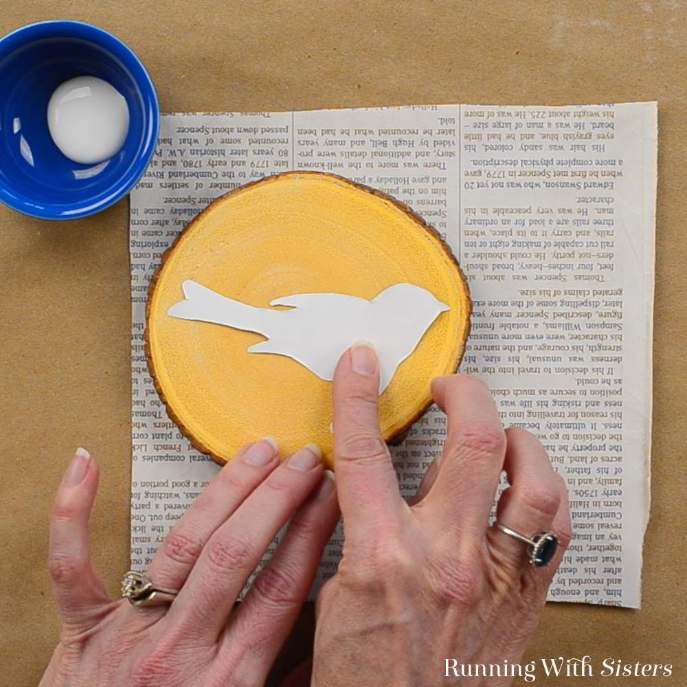 Mod Podge Image Transfer is magical! We'll show you how to image transfer bird pictures to rustic wooden coasters. Video tutorial included!
