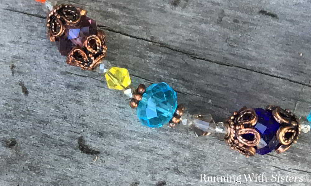 Make a Colorful Crystal Necklace for a holiday party! This is an easy bead stringing project anyone can do. We'll share how to do every step!
