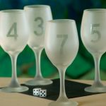 Etch Wine Glasses To Toast A New Year!