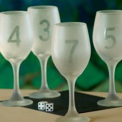 Etch wine glasses with numbers for instant wine markers. We'll show you how to use etch cream to custom etched wine glasses.
