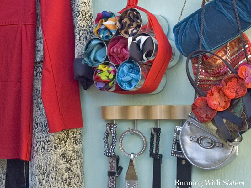 Get clever and upcycle cans into creative storage solutions! So many ways to turn cans into containers for your junk drawer, kid's room, and more!