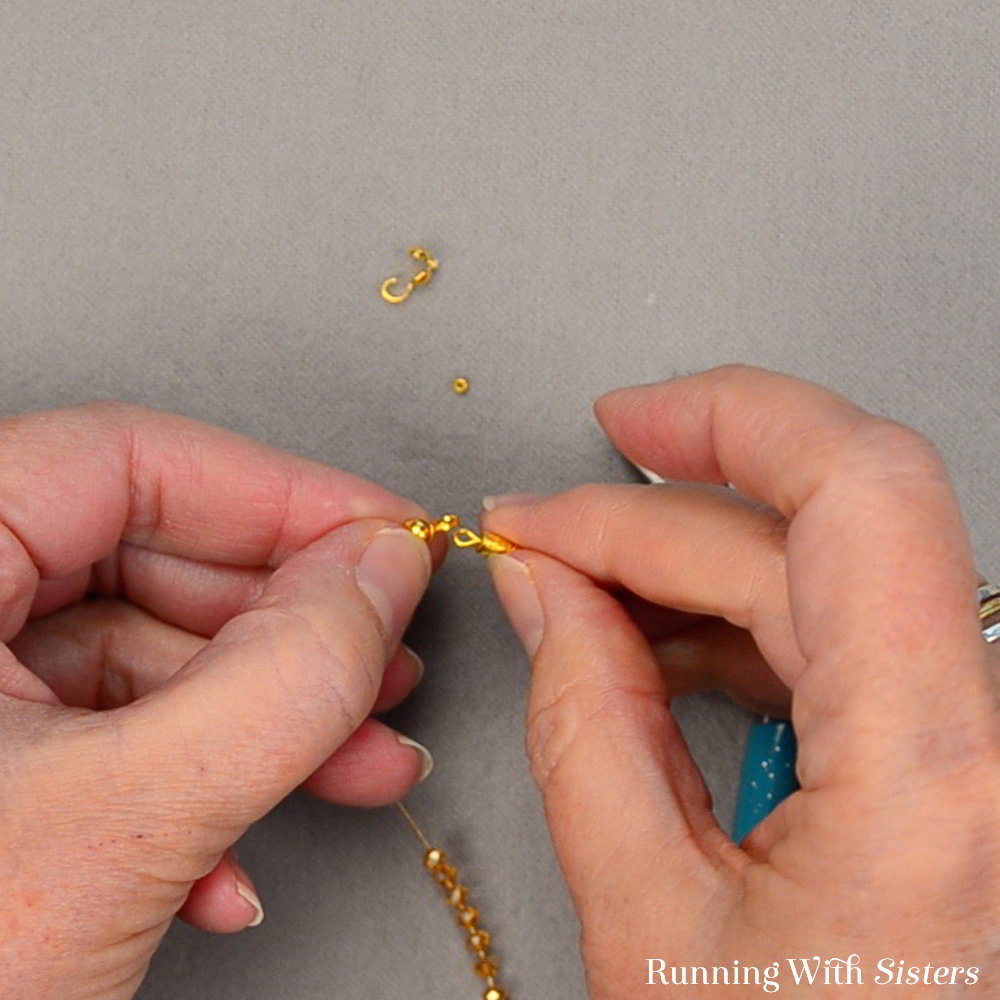 Learn to make a Crystal And Tassel Friendship Bracelet with our step by step video tutorial. Making jewelry is fun and easy. We'll show you how!