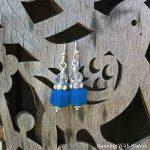 Easy Earring Tutorial: Crystal Cube Earrings