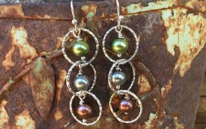 How To Make Cascading Pearl Earrings