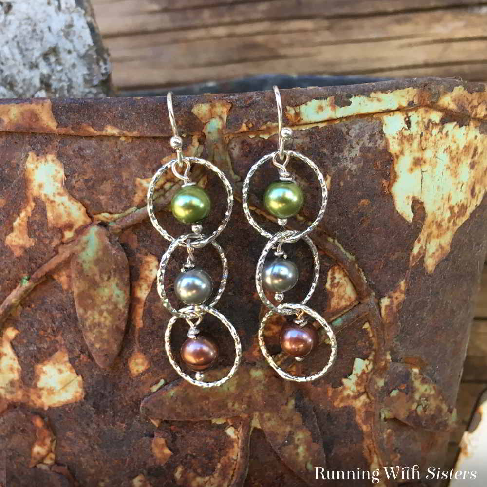 Make a dazzling pair of Cascading Pearl Earrings. We'll show you how to make the pearl dangles with this jewelry tutorial and video.