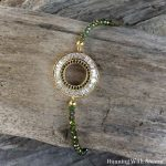 How To Make A Delicate Crystal Circle Bracelet