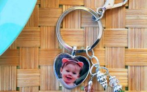 Personalized Photo Pendant Key Chain