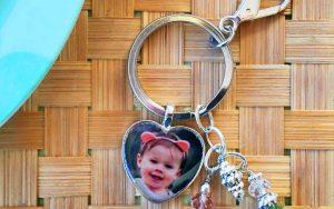Personalized Photo Pendant Key Chain