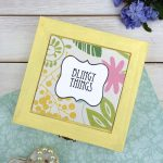DIY Jewelry Box With Printable Label