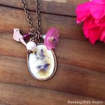 Make A Boho Charm Necklace With A Mod Podge Picture Pendant