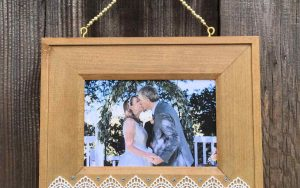 How To Make A Bead And Lace Boho Frame