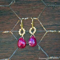 How To Make Beaded Briolette Drop Earrings