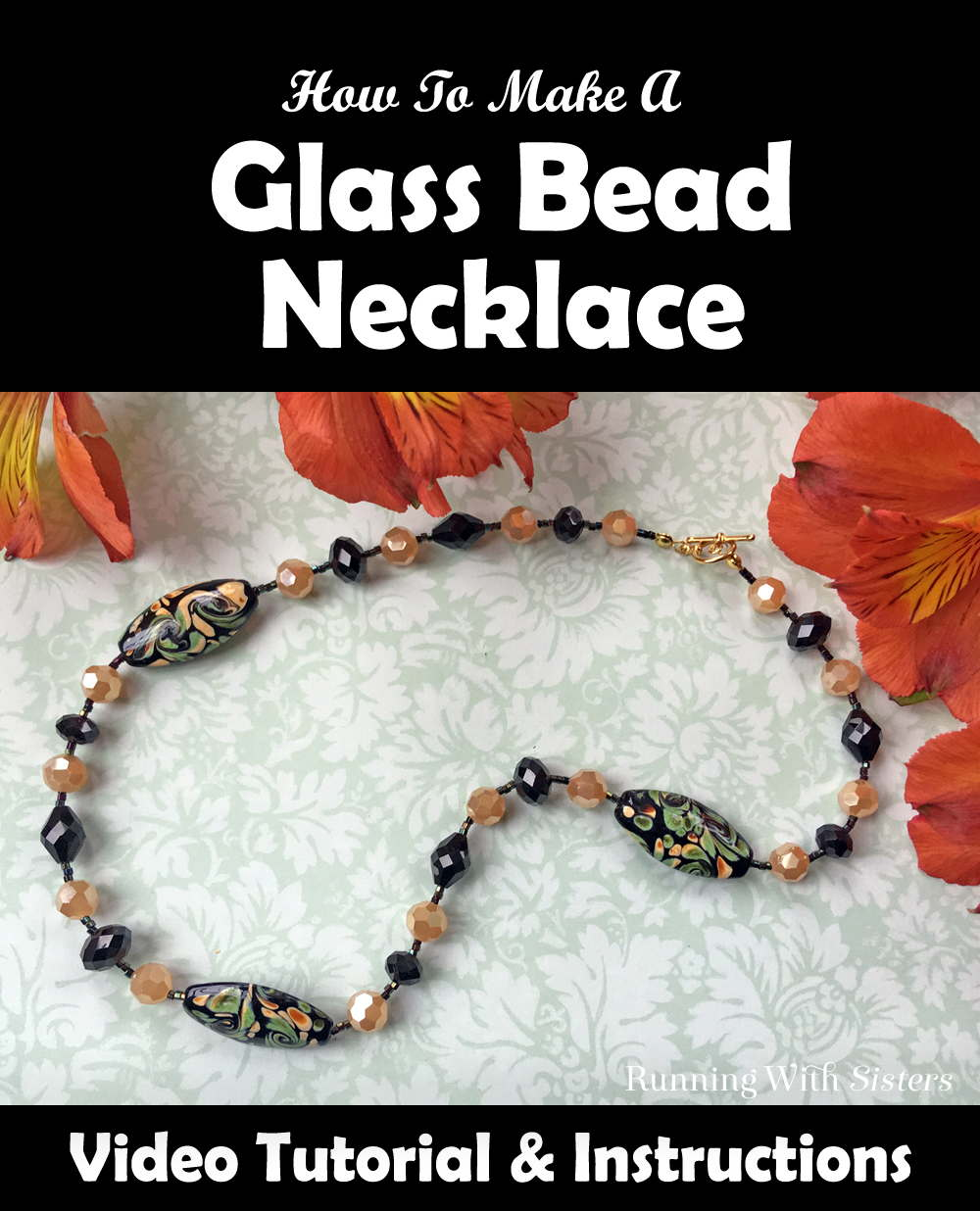 Learn to string a glass bead necklace with this video tutorial. We'll show you what materials to use, how to string the beads, and how to add the clasp.