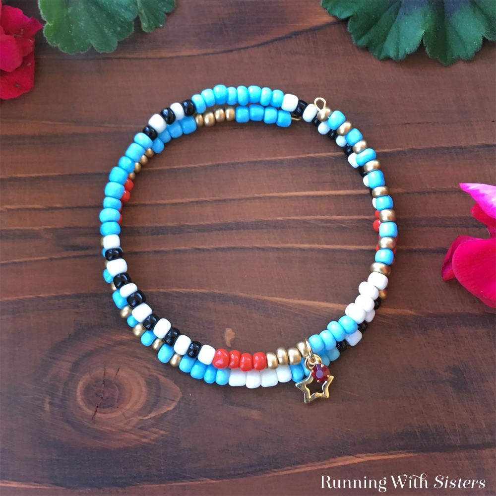 How To Make A Teacher's Gift Beaded Bracelet