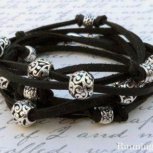 Boho Leather Wrap Bracelet Class
