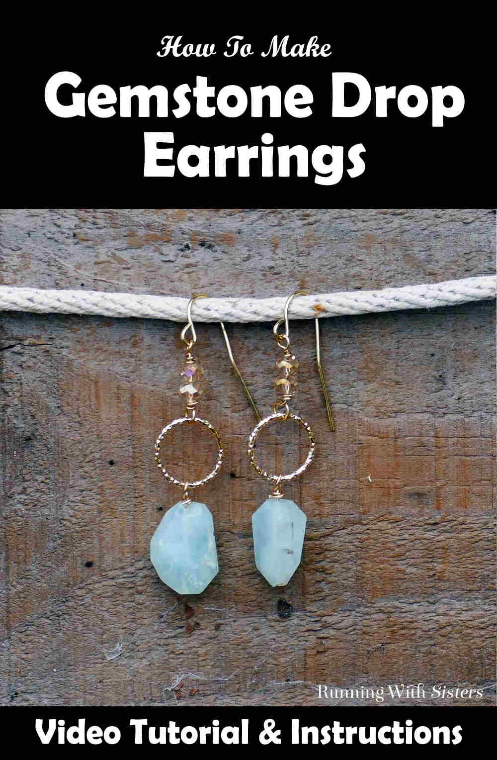 Amazonite Gemstone Drop Earrings Pinterest