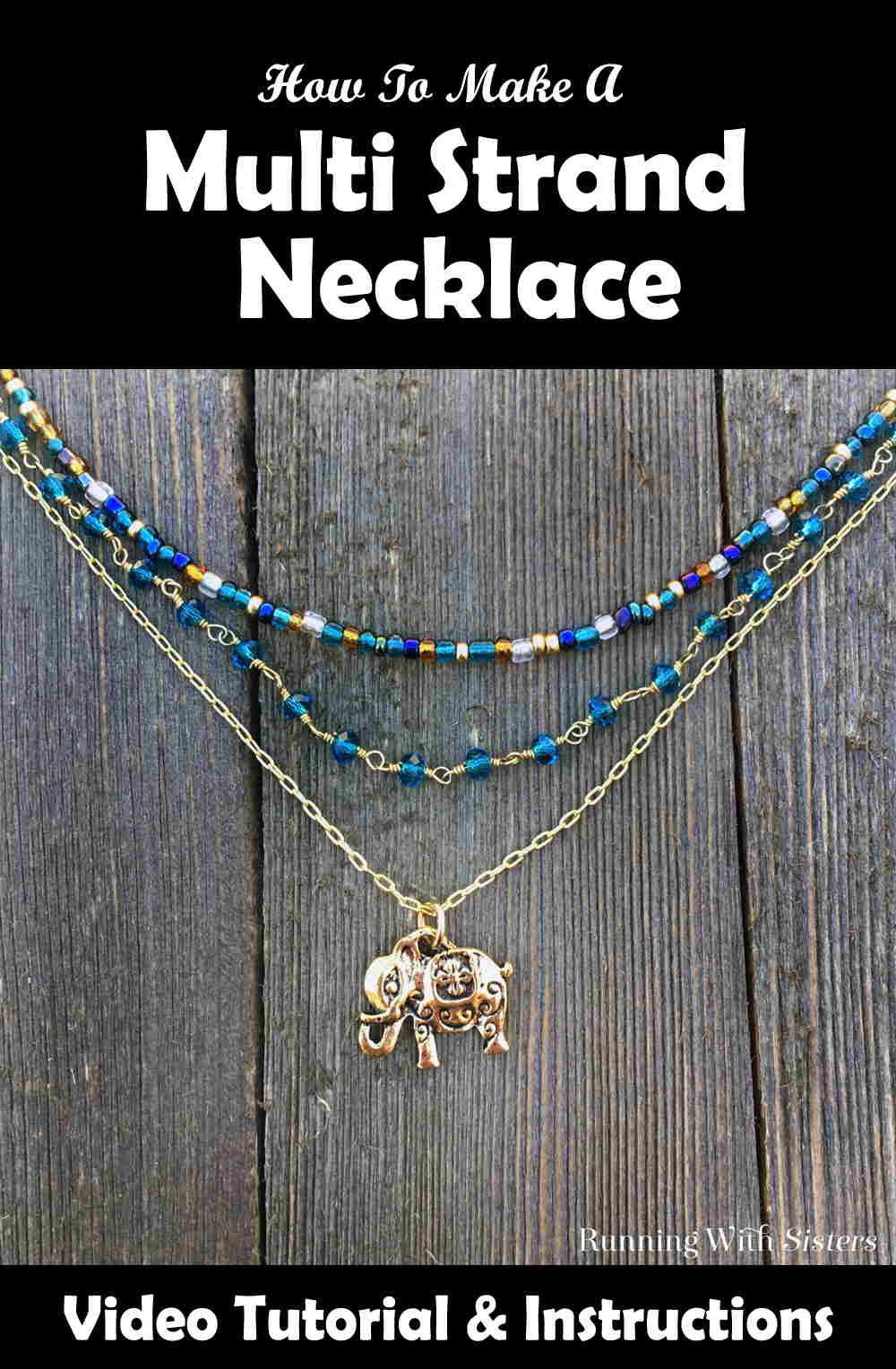 Multi Strand Necklace Pinterest