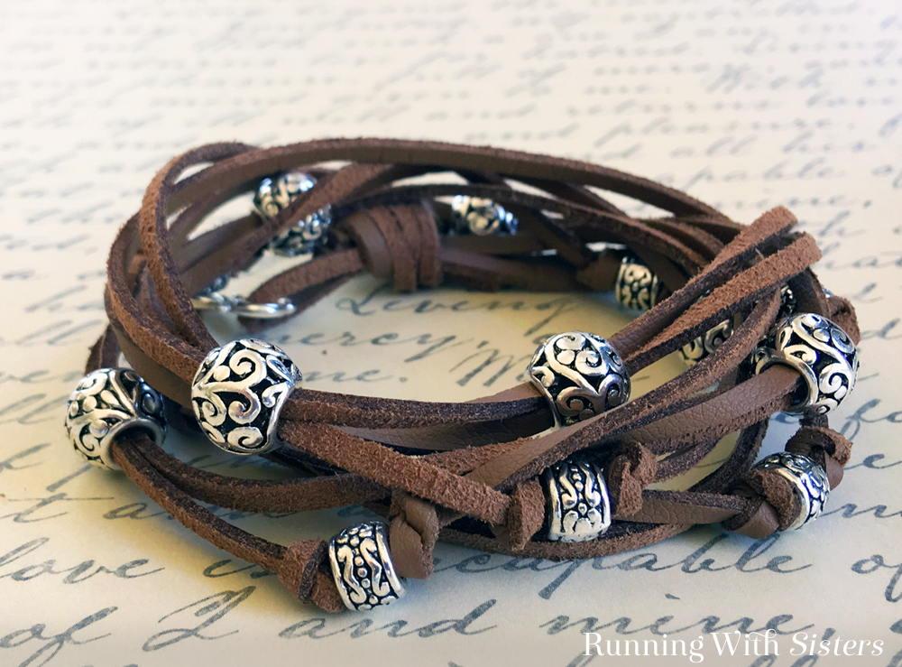 Boho Wrap Bracelet Cocoa